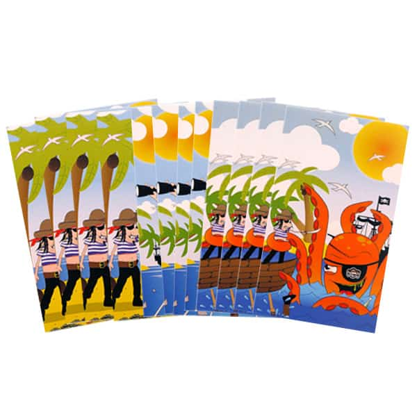 Assorted Mini Pirate Notebooks - Pack of 12 Product Image