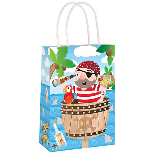 Pirate Paper Bag With Handles 21cm