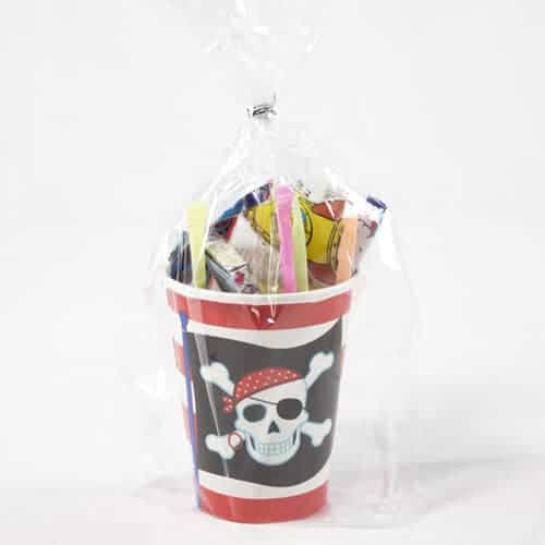 Pirate Party Toy And Candy Cup