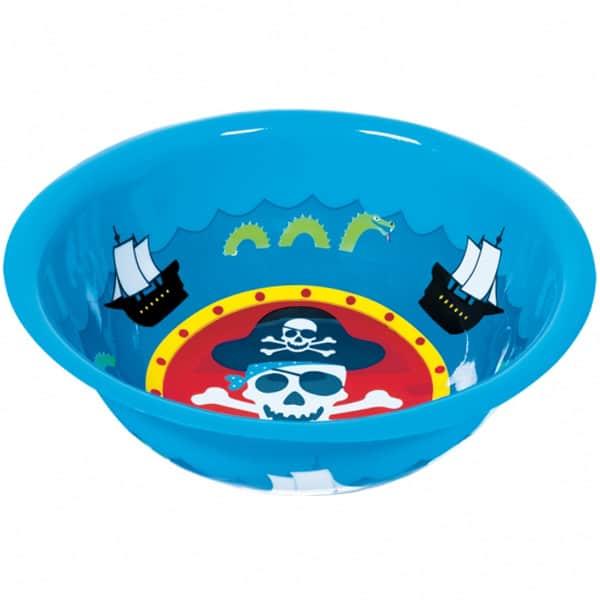Pirate Treasure Large Plastic Snack Bowl - 12 Inches / 30cm