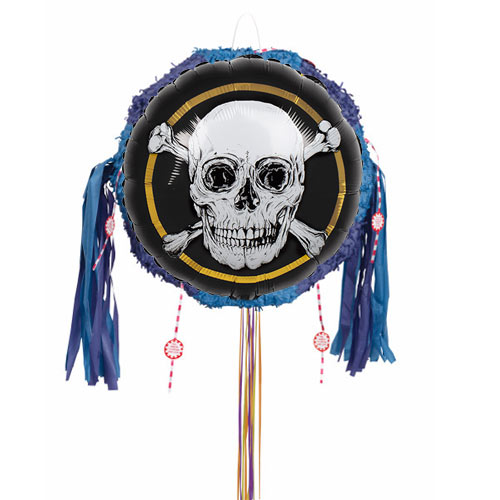 Pirates Gold Pull String Pinata