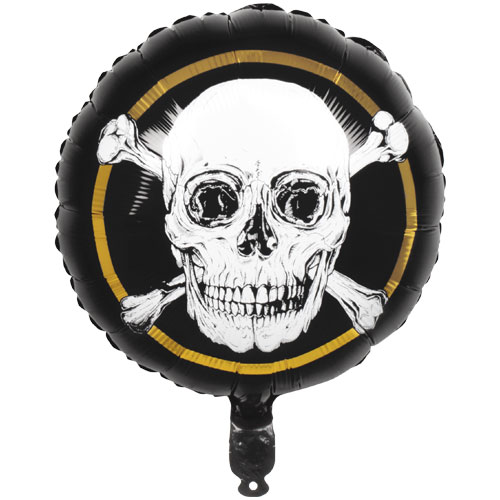 Pirates Gold Round Foil Helium Balloon 45cm / 18 Inch Product Image