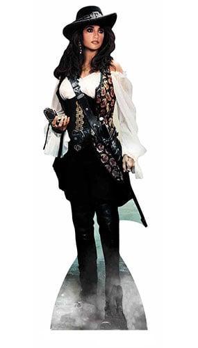 Pirates Of Caribbean Angelica Lifesize Cardboard Cutout - 165cm
