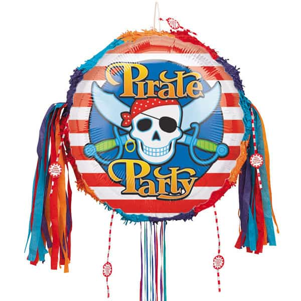 Pirate Party Pull String Pinata