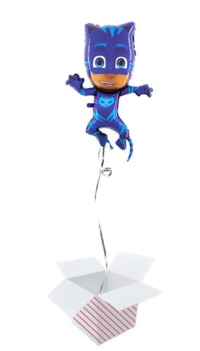 PJ Masks Cat Boy Helium Foil Giant Balloon - Inflated Balloon in a Box Product Image