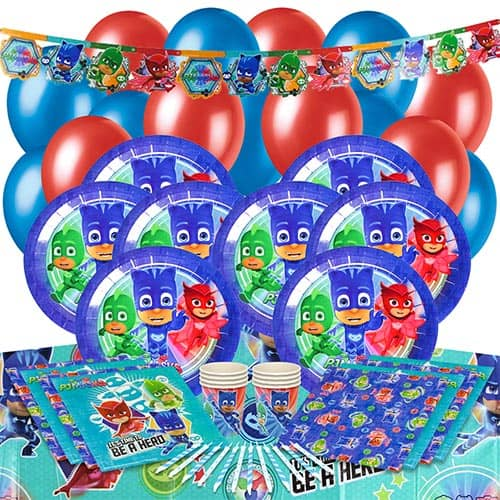 PJ Masks 16 Person Deluxe Party Pack