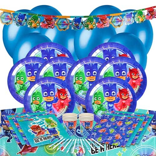 PJ Masks 8 Person Deluxe Party Pack