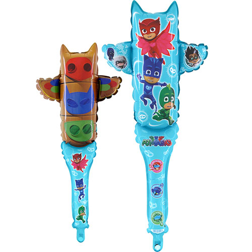 PJ Masks Shake Air Fill Foil Balloon 64cm / 25 in Product Image