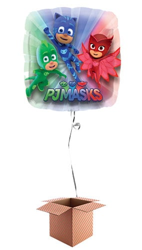 PJ Masks Helium Foil Giant Balloon - Inflated Balloon in a Box Product Image