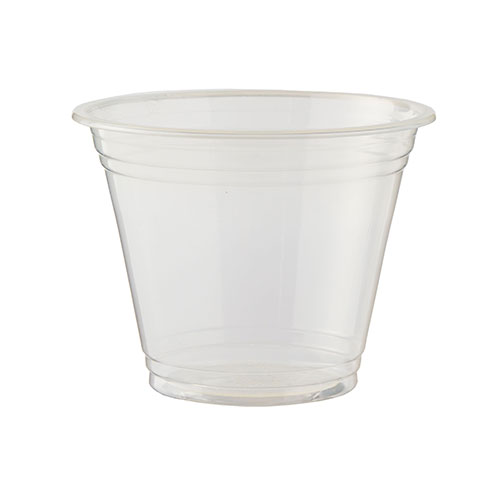 PLA Clear Compostable Cups 255ml / 9 oz - Pack of 50