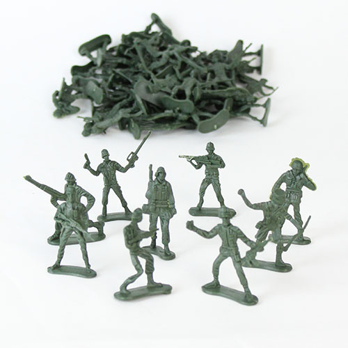 Plastic Army Soldier - Pack of 50