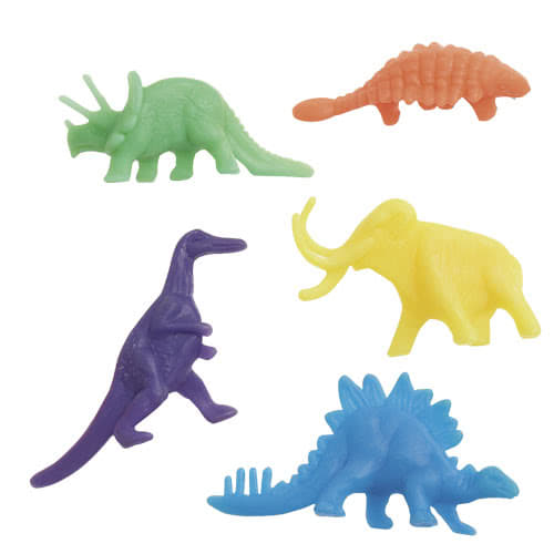 Plastic Dinosaurs Figures - Pack of 12