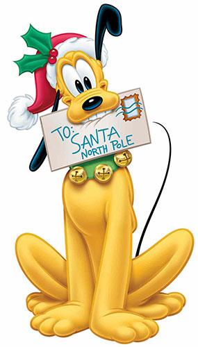 Pluto Christmas Letter To Santa Star Mini Cardboard Cutout 90cm Product Image