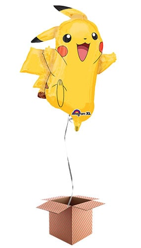 Pokemon Pikachu Helium Foil Giant Balloon - Inflated Balloon in a Box Product Image
