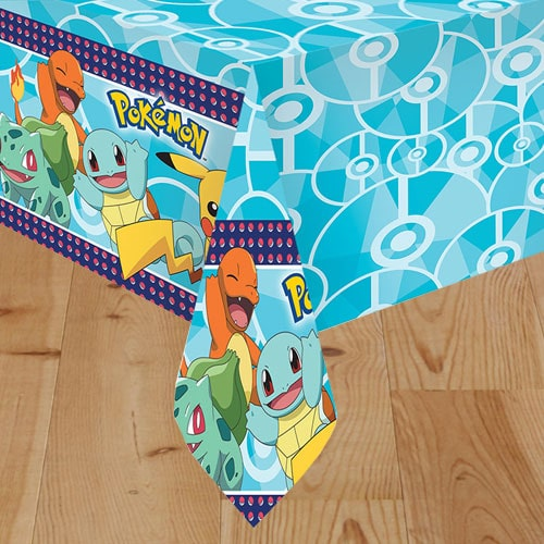 Pokemon Plastic Tablecover 180cm x 120cm Product Image