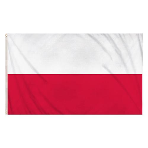 Poland Flag 5 x 3 Ft
