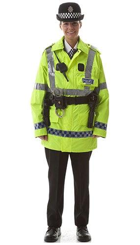 Policewoman Lifesize Cardboard Cutout - 165cm Product Image