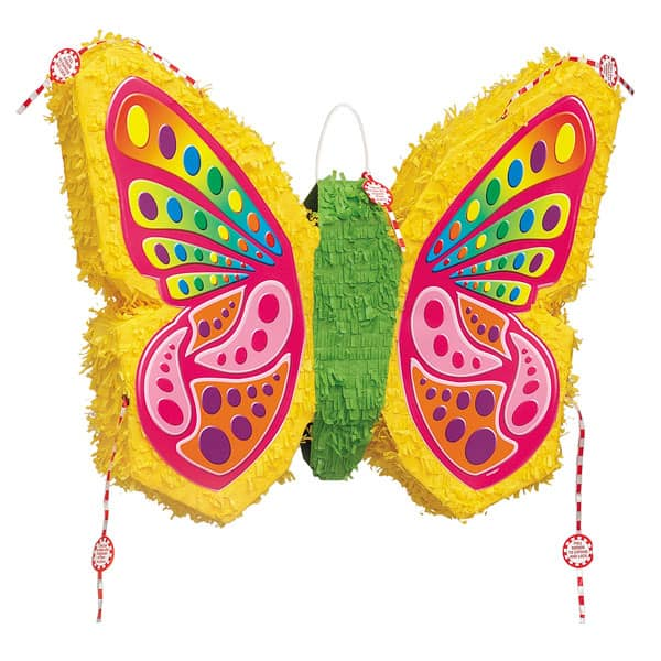 Pop-out Flat Butterfly Standard Pinata Product Image