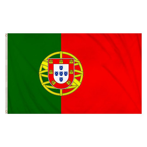 Portugal Flag 5 x 3 Ft
