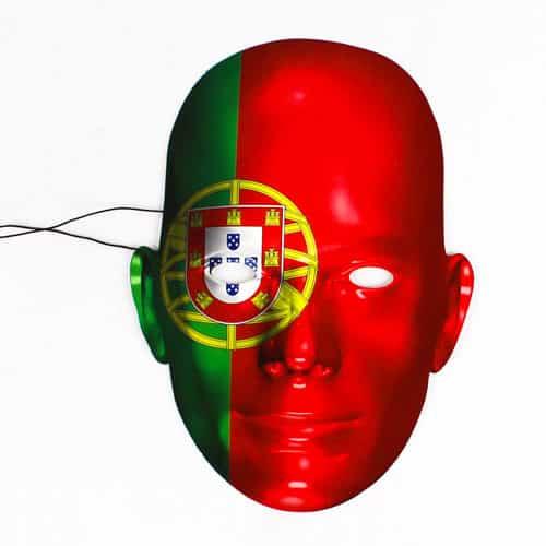 Portugal Flag Face Mask