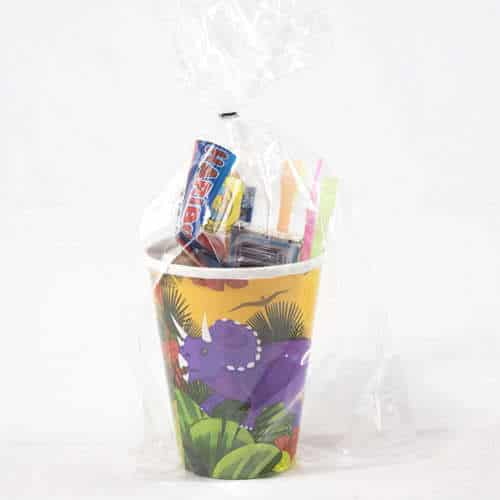 Prehistoric Party Toy And Candy Cup Product Image