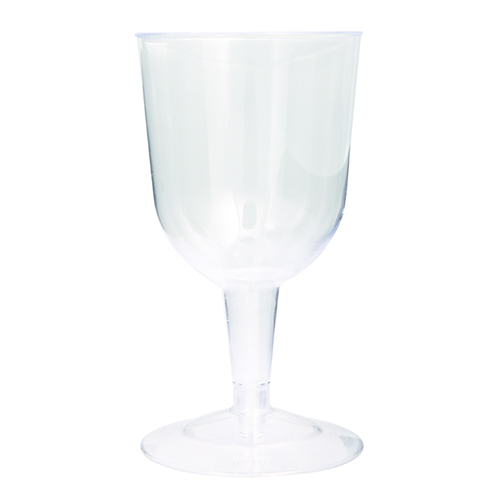 Premier Stylz Clear Plastic Wine Glasses 162ml - Pack of 8 Product Image