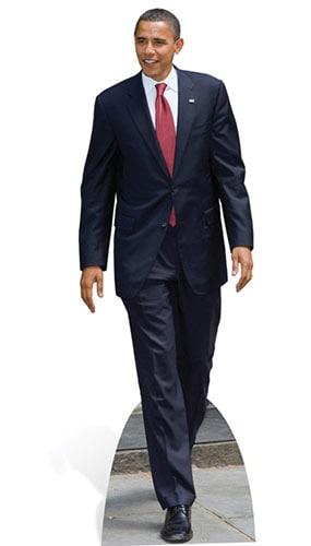 President Obama Lifesize Cardboard Cutout - 180cm Product Image