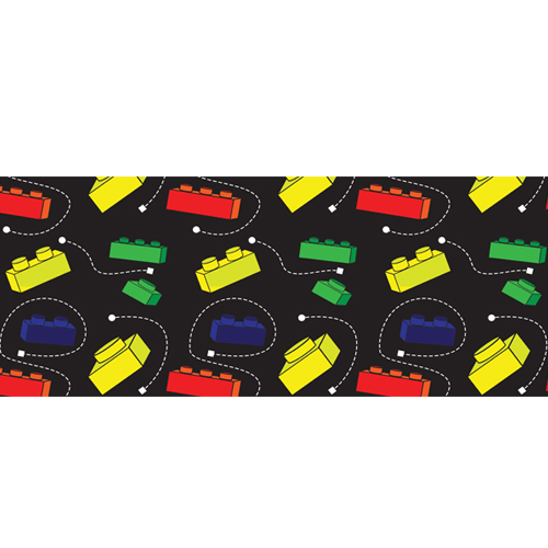 Primary Lego Trail PVC Party Sign Decoration 60cm x 25cm Product Image
