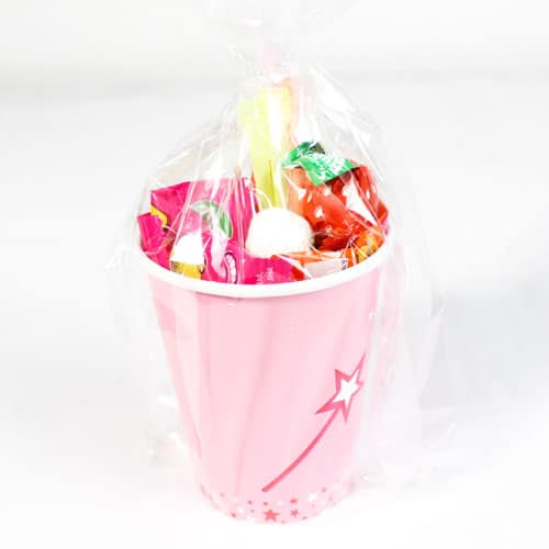 Princess and Unicorn Candy Cup