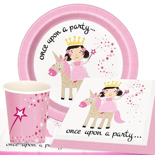 Princess and Unicorn 8 Person Value Party Pack