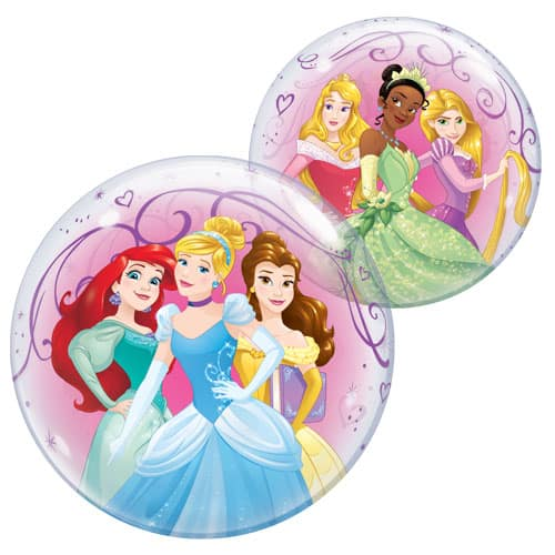 Disney Princesses Bubble Helium Qualatex Balloon 56cm / 22 in