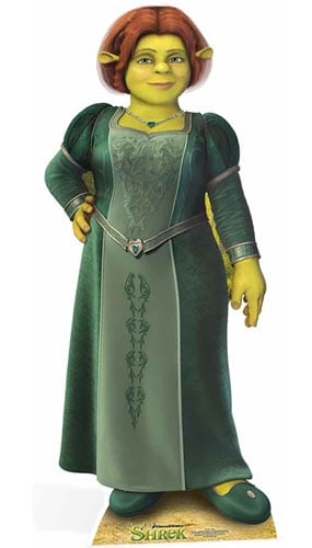 Princess Fiona Cardboard Cutout - 160cm Product Image