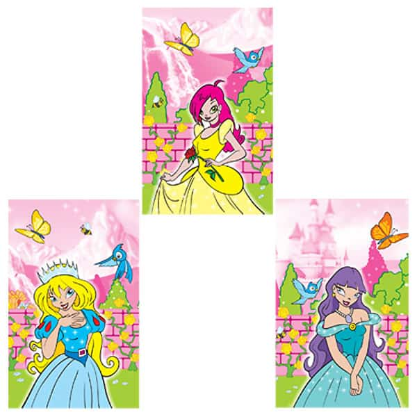 Assorted Mini Princess Notebook Product Image