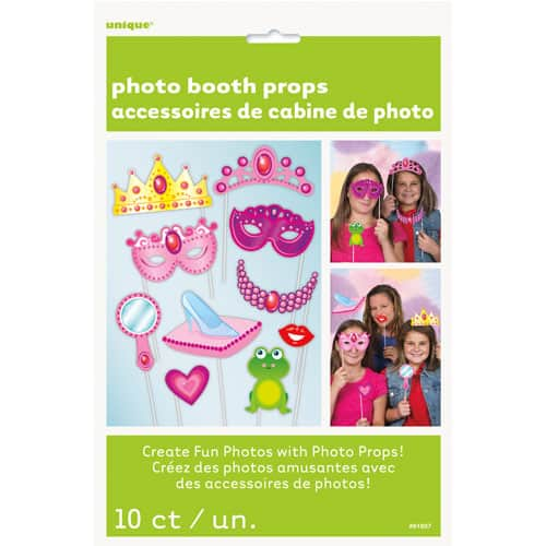 Princess Photo Prop Accessories - Pack of 10 Product Image