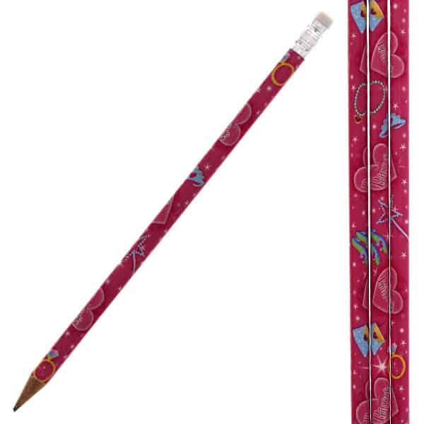 Princess Theme Pencil with Eraser