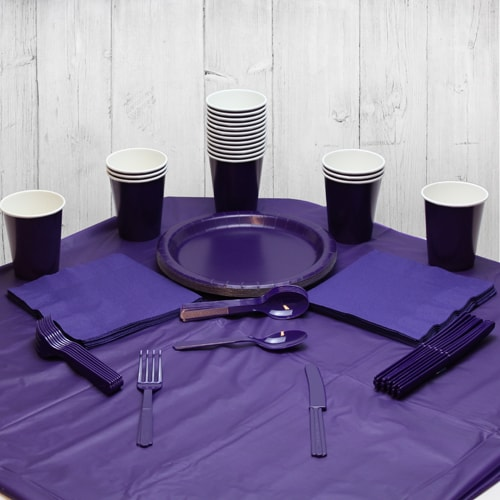 Purple 18 Person Party Pack