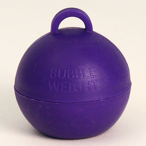 Purple Bubble Balloon Weight 35g Product Image