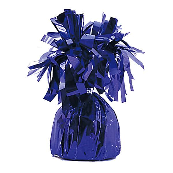 Purple Foil Balloon Weight Product Image