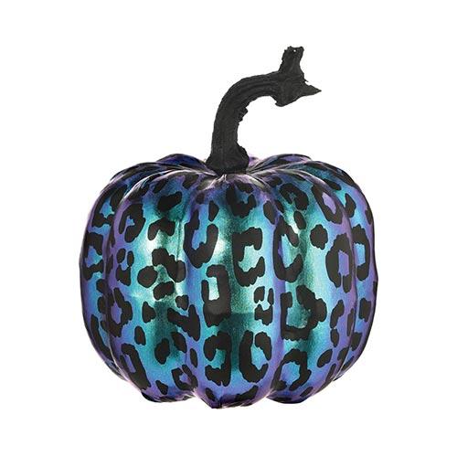 Purple Midnight Pumpkin Halloween Prop Decoration 16cm Product Image