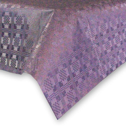 Purple Paper Tablecover - 90cm x 90cm
