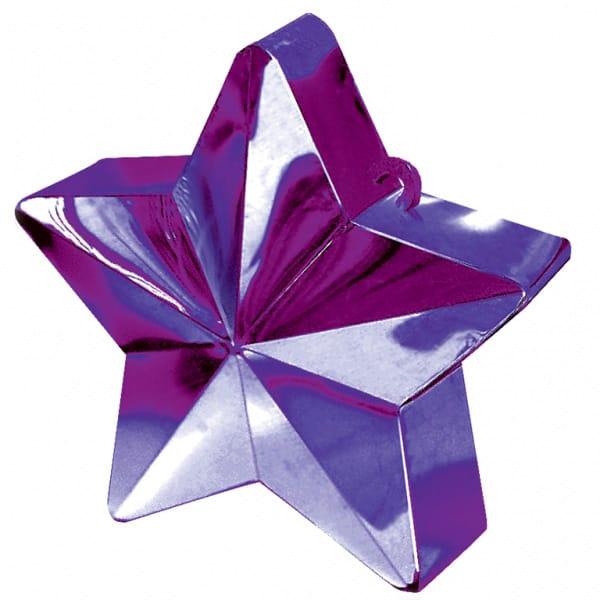 Purple Star Balloon Weight Product Image