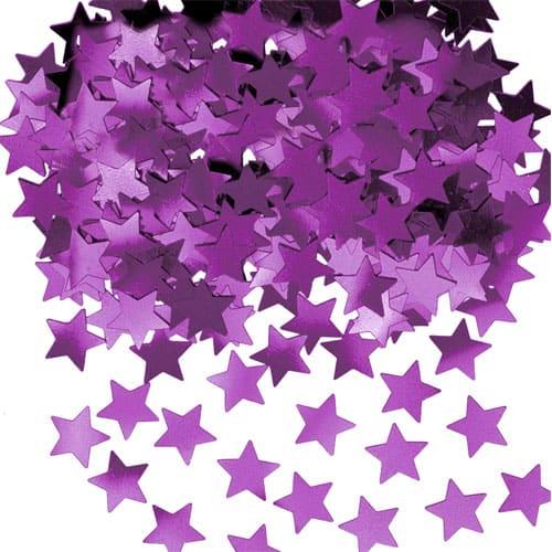 Purple Stars Table Confetti - 14 Grams Product Image