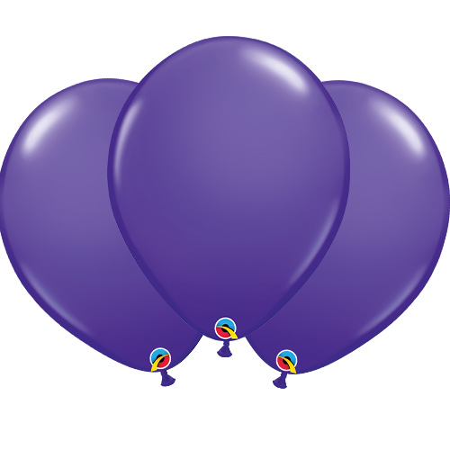 Purple Violet Latex Qualatex Balloons 40cm / 16 in - Pack of 50 Product Image