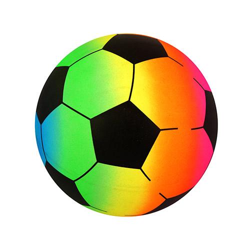 Inflatable Rainbow Football 20cm Product Image