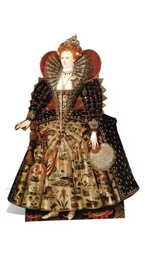 Queen Elizabeth I Lifesize Cardboard Cutout - 160cm Product Image
