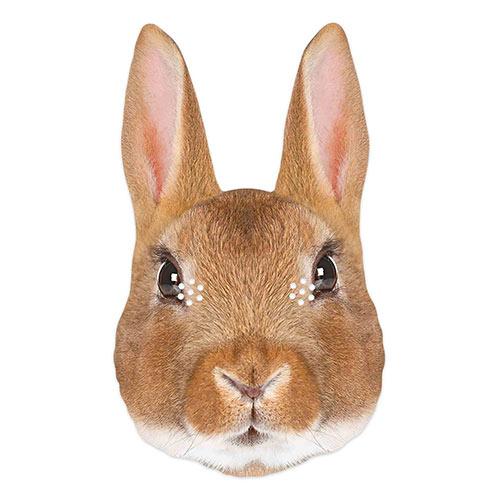 Rabbit Cardboard Face Mask Product Image