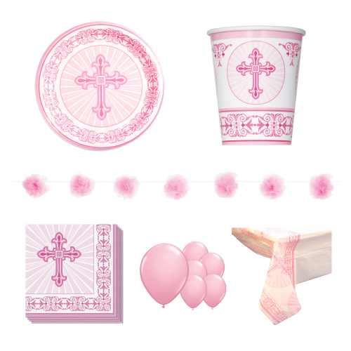 Radiant Cross Pink 8 Person Deluxe Party Pack