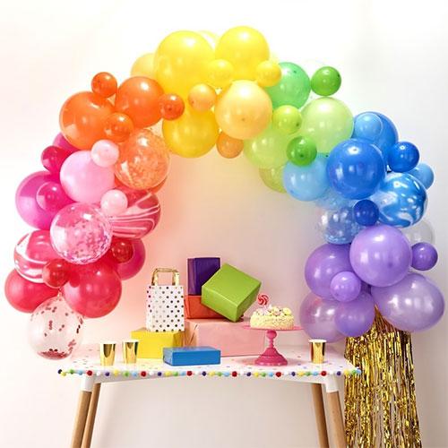 Rainbow Balloon Arch Kit Product Image