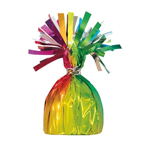 Rainbow Foil Balloon Weight