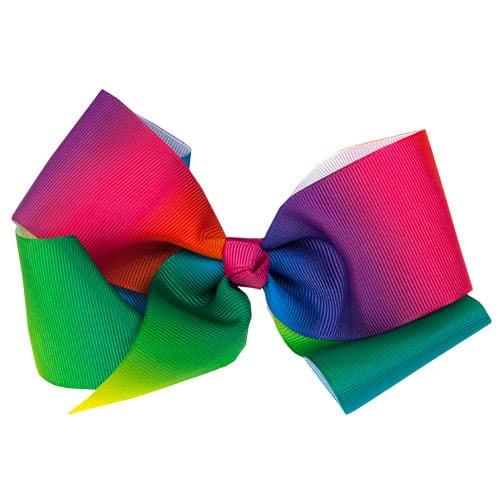 Jojo Style Rainbow Large Fashion Hair Bow Product Image